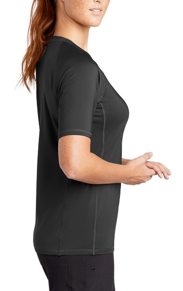 Lake Crew Ladies UV + Moisture Protect Rashguard Tee