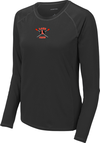Lake Crew Ladies Long Sleeve UV + Moisture Protect Rashguard Tee