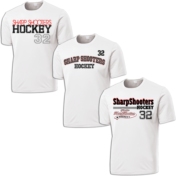 Sharp Shooters Hat Trick Dri-Fit Custom T-Shirt Set