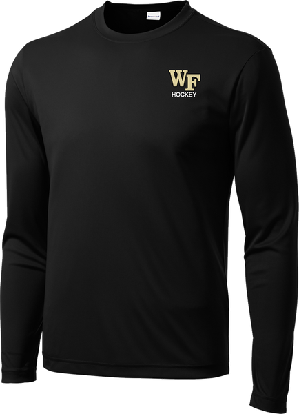 Wake Forest Long Sleeve Dri-Fit Tee w/ Player Number