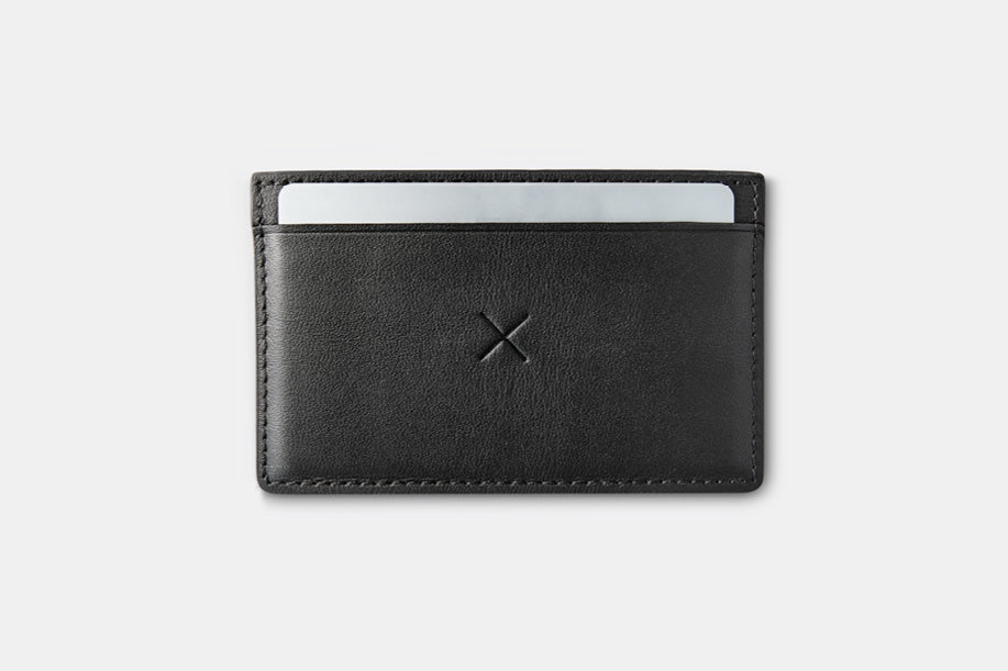 Slim 3 Flip Wallet - Black