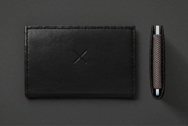 Black Slim 2 Wallet from Supr Good Co