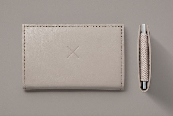 Gray Slim 2 Wallet from Supr Good Co