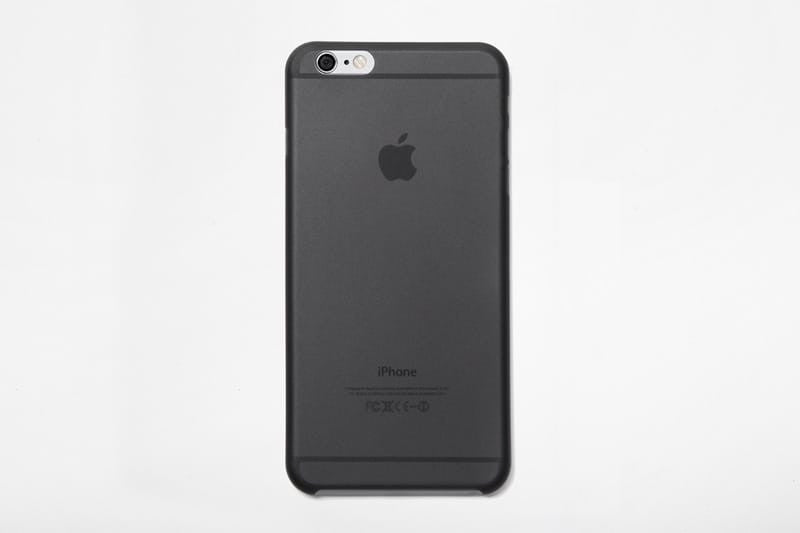 Black Slim iPhone 6 Plus Case by Supr Good Co