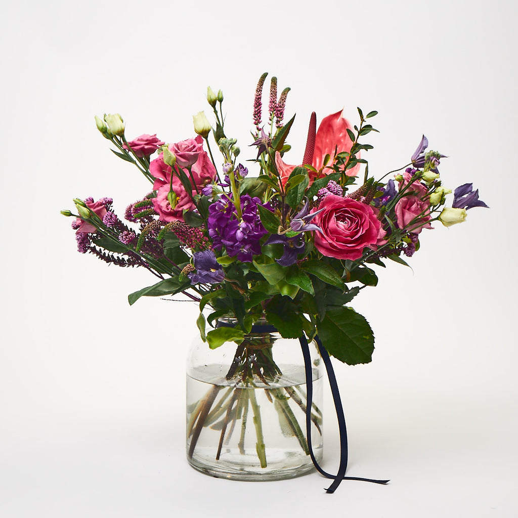 The River Tib (Lisianthus / Clematis / Roses / Anthurium / Stocks)