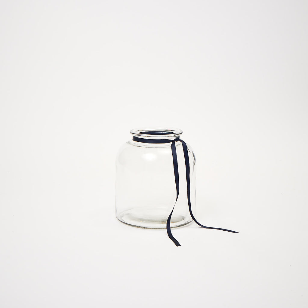 Pickle Jar (Clear glass vase)