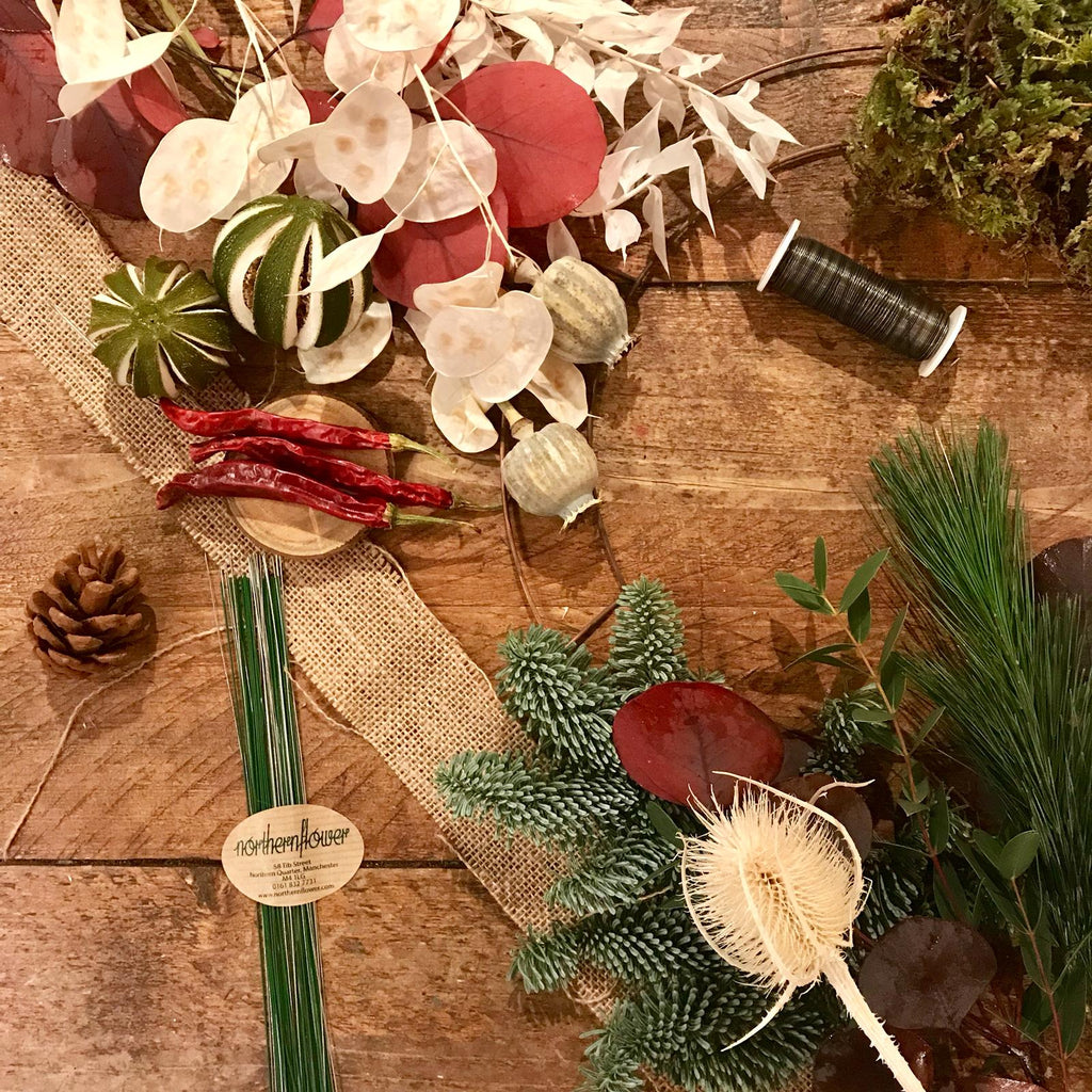 Natural DIY Wreath Kit (Neutral & Natural)