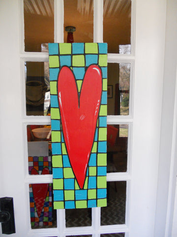 Fun Door Heart