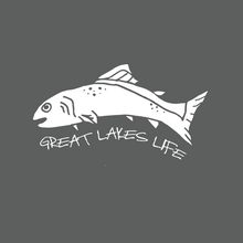 Great Lakes Life Series - White Decal (Multiple)