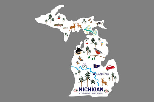 Mitten Illustrations Sticker