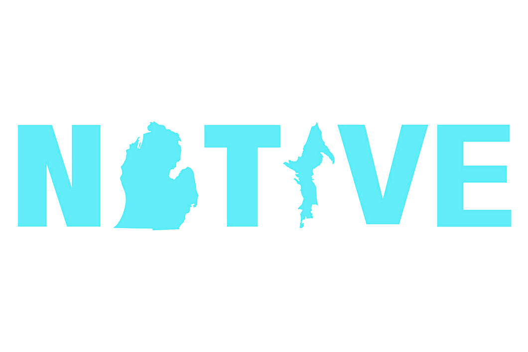 Great Lakes Proud Native Decal
