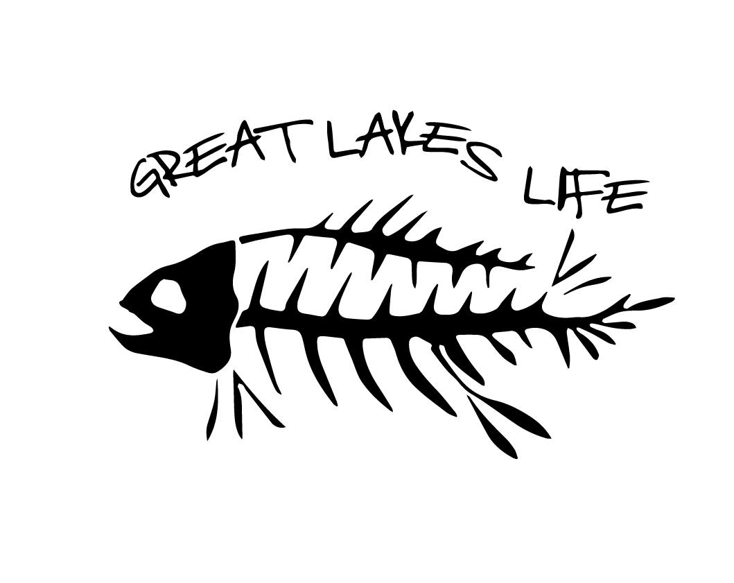 Great Lakes Life Series - Black Decal