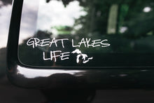 Great Lakes Life Series - White Decal