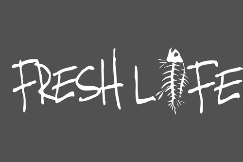 Fresh Life Series - White Decal