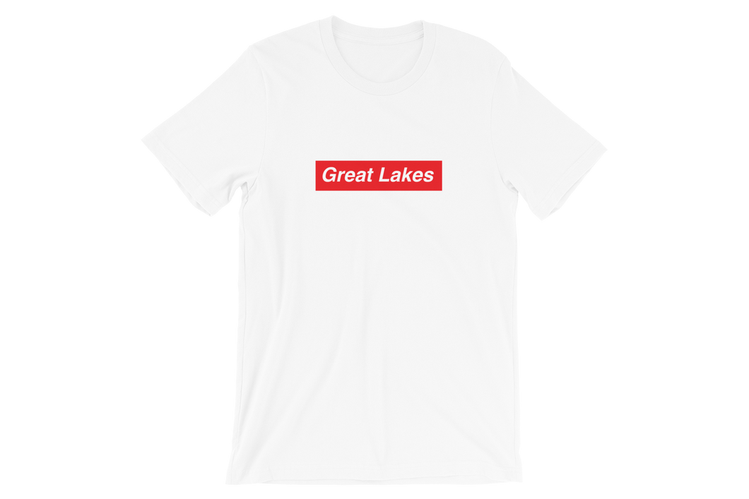 Great Lakes Red Short-Sleeve Unisex T-Shirt