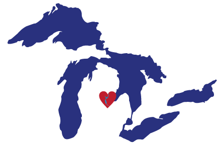 Great Lakes Proud Midland Heart