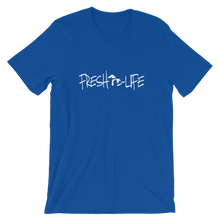 Fresh Life Lakes White Short-Sleeve Unisex T-Shirt