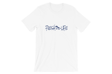 Fresh Life Lakes Navy Short-Sleeve Unisex T-Shirt