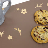 Cathy Hilton Artisan Hand Painted Woodware Snack Board Bloom