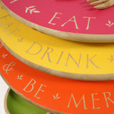 Personalised Lazy Susan ~ Eat Drink & Be Merry With _ _ _ _