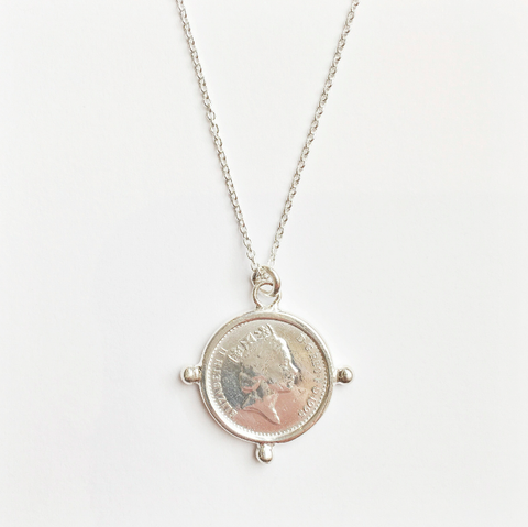 Olivia Necklace - Significant 18th & 21st Coin Years.