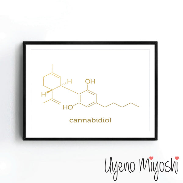 Chemical Molecule - Cannabidiol