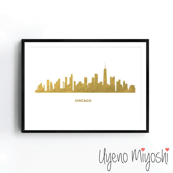 Chicago Skyline I