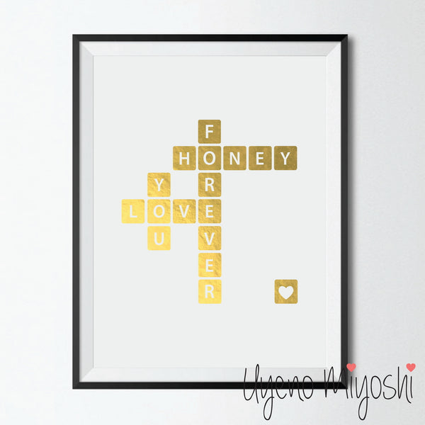 Crossword Puzzle - I Love You Forever Honey II