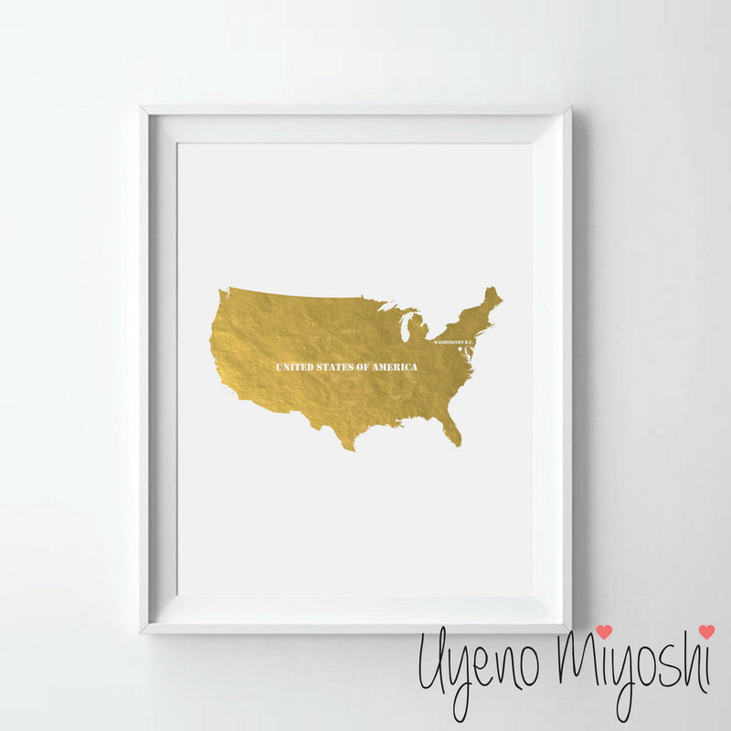 Map - United States of America