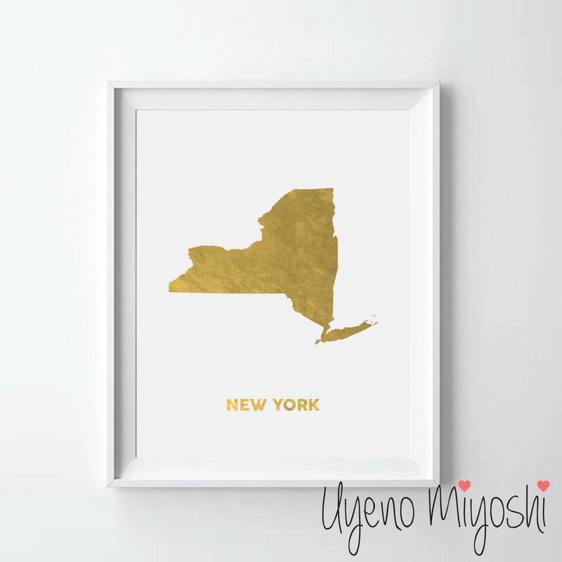 Map - New York