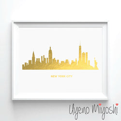 New York City Skyline I