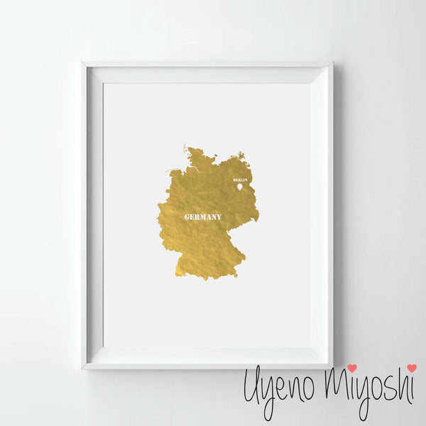 Map - Germany