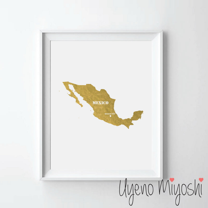 Map - Mexico