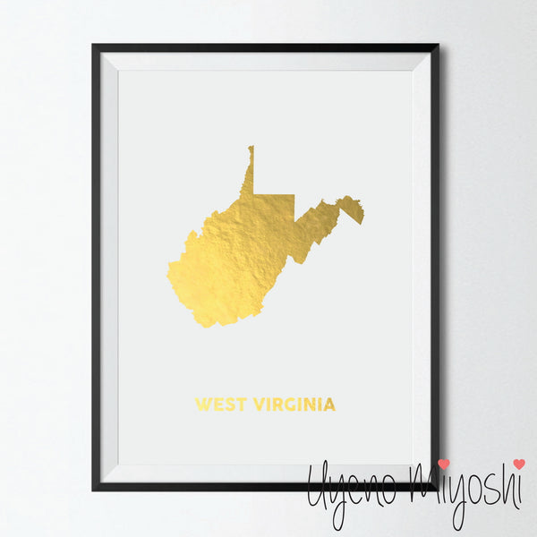 Map - West Virginia