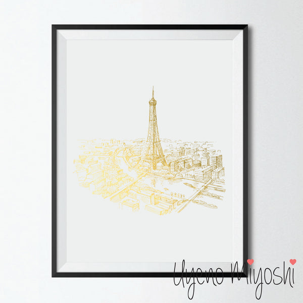 Paris City Sketch III