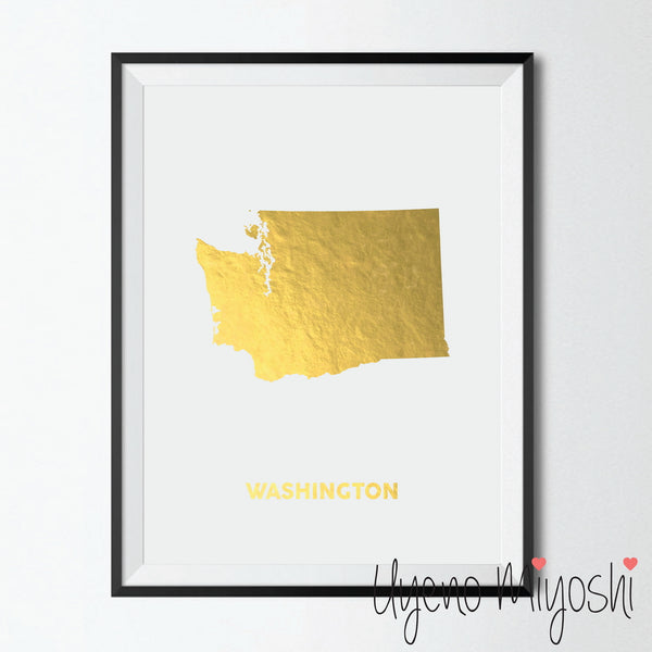 Map - Washington