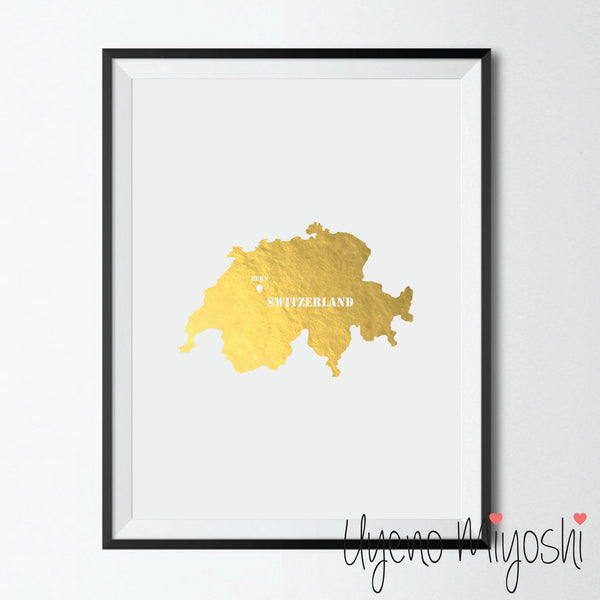 Map - Switzerland