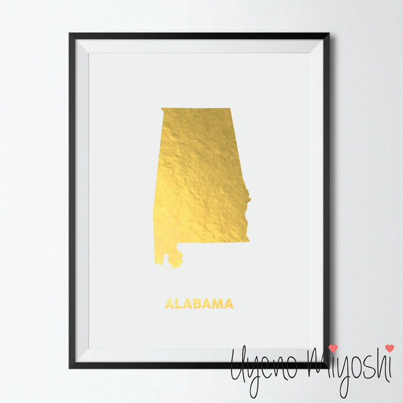 Map - Alabama
