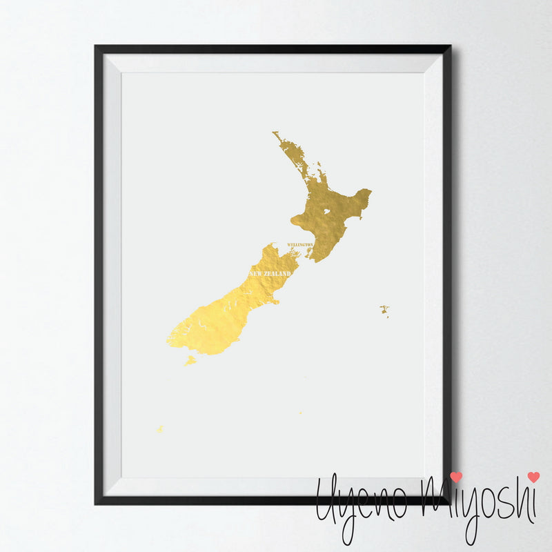 Map - New Zealand