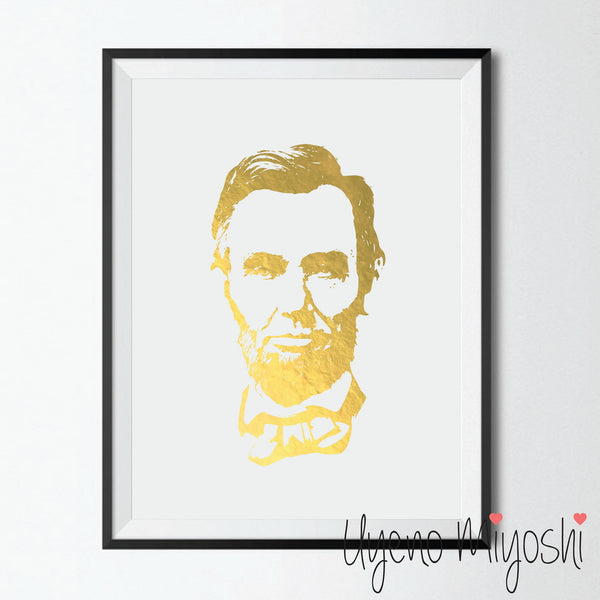 Abraham Lincoln Self Portrait