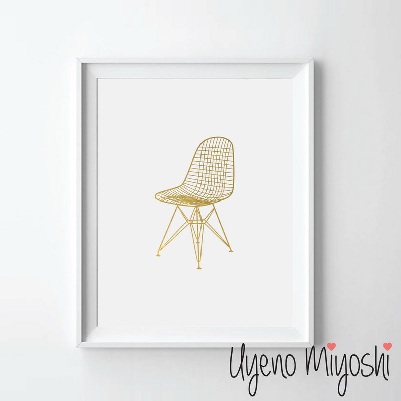 Eames Vitra DKR Wire Chair