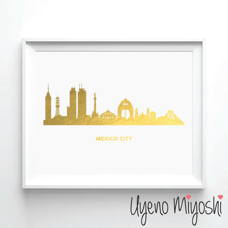 Mexico City Skyline