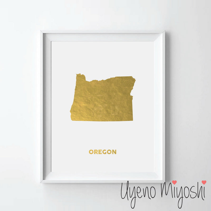 Map - Oregon