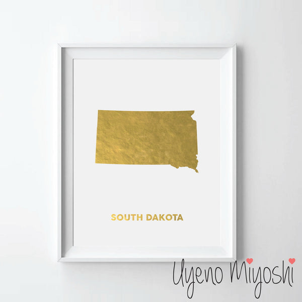 Map - South Dakota