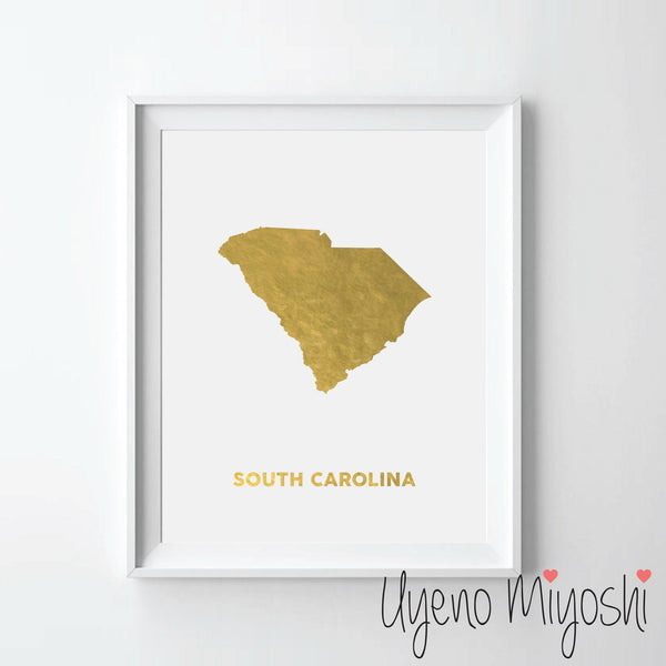 Map - South Carolina