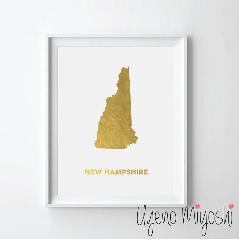 Map - New Hampshire