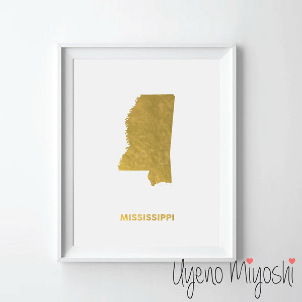 Map - Mississippi