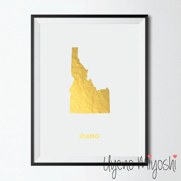 Map - Idaho