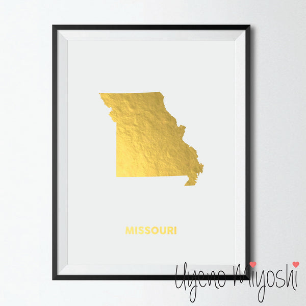 Map - Missouri