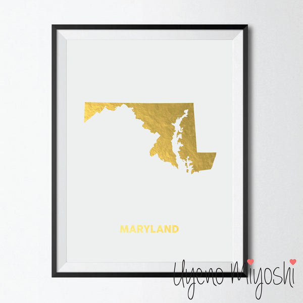 Map - Maryland